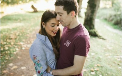 Caoimhe + Paul – Prewedding Photoshoot – The Argory Park.
