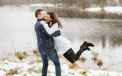 Catherine + Ronan – Pre-Wedding Photoshoot – Snow !